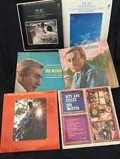 6 ROD McKUEN LPs / SINGS HIS OWN / OTHER KINDS SONGS / BITS & PIECES/ SEA/ SKY/