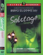 Sabotage (1936)  Alfred Hitchcock / Sylvia Sidney / Oskar Homolka DVD *NEW*