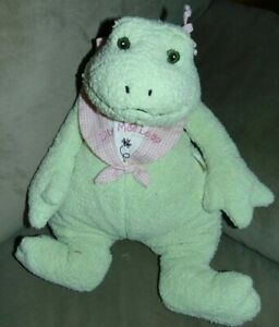 """Bunnies By the Bay Baby  - 14"""" Lily Mae Leap Frog Plush Pink"""