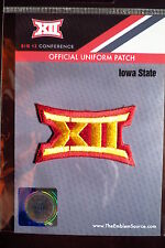 Official Licensed NCAA College Football Iowa State BIG 12 Conference Patch