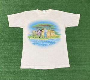 Vintage 90s Pocahontas Disney Movie Promo T Shirt M/L Single Stitch Rare