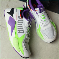 """🔥100% Auth PUMA RS-X³ """"BOLD"""" in a Funky White/Gecko-Lilac Multi-Colorway!🔥"""