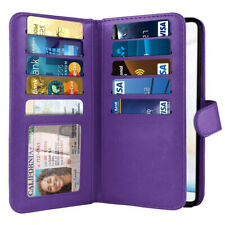 Purple Flip Wallet Pouch TPU Case Cover For Samsung Galaxy Note 10 Lite N770