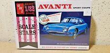 AMT > Avanti Sport Coupe Model Kit, 1:32 Scale [AMT885/12]