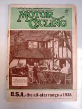 MOTOR CYCLING MAGAZINE 17 NOV 1937 - Gilera New Speed Record, 250c New Imperial.
