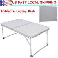 Alloy Folding Lap Desk PC Laptop Notebook Bed Table Stand Tray Adjustable