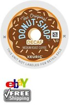 NEW & FRESH Keurig Donut Shop DECAF Coffee 154 K-Cups