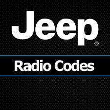 Jeep Radio Code Grand Cherokee Unlock Decode Security Codes All Vehicles
