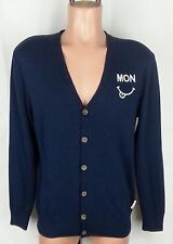 Moods Of Norway Blue Long Sleeve Men's Cardigan Size:M Wool Blend