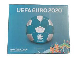 INFLATABLE UEFA EURO 2020 FOOTBALL CHAIR FOR KIDS BIRTHDAY CHRISTMAS COMFORT