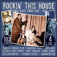 MEMPHIS/ROOSEVELT/BOYD - ROCKIN' THIS HOUSE.CHICAGO 5 CD BOX-SET NEW