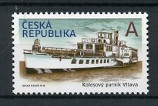 Czech Republic 2018 MNH Paddle Steamer Vltava 1v Set Boats Ships Stamps