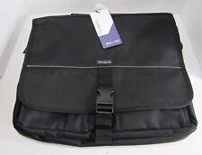 "Targus Laptop Bag Messenger 15.6"" Case TCM004US NWT New Black Protective Case"
