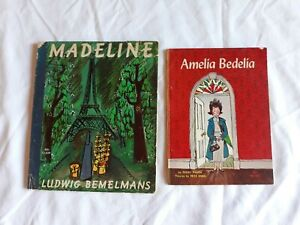 "Vintage ""Amelia Bedelia"" and ""Madeline"" Children's Books, 1960s"