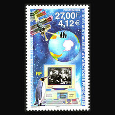 "TAAF 2001 - Amateur Radio Link between ""Mir"" Space Station - Sc 288 MNH"