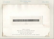 #RO94P1 W.M. GATES & SONS LARGE DIE PROOF ON INDIA SUNK ON CARD EX-JOYCE BR2718