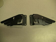BUELL 1125 1125CR   BLACK    HEEL GUARDS 2002-2013 REAR SET