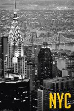Poster NEW YORK - Aerial (NYC) NEU!!  (57612)