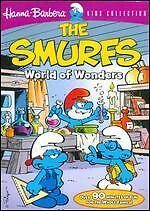 The Smurfs World of Wonders dvd brand new