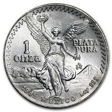 1985 1 oz Silver Mexican Libertad Coin - Brilliant Uncirculated - SKU #10204