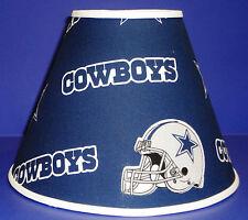 Set of 2 Dallas Cowboys on Blue Lampshade Lamp Shade