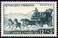 "FRANCE N°919 ""JOURNEE DU TIMBRE MALLE POSTE""NEUF xx TTB"