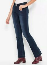 Neues AngebotBodyflirt @ Kaleidoscope Größe 14 dunkelblau Stone Classic Bootcut Jeans