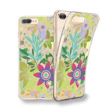 Funda gel dibujo Flores plantas verdes para Xiaomi Redmi 5 / 5 plus / S2