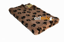 Tapis Confortbed Vetbed Dry vison pattes noires 75x100 cm 20 mm