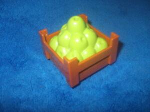 Lego Duplo Ville Zoo Bauernhof 1 X Fressen Futter Korb Äpfel Grün aus 10867 NEU