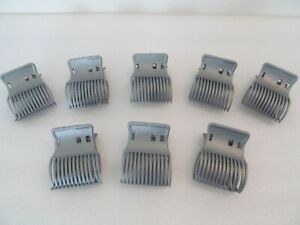 Conair Hot Rollers 8 Clips  Gray