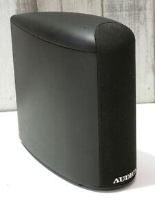 1 X AUDICA MATTE BLACK FINISH HOME CINEMA THEATRE SURROUND SOUND LOUDSPEAKER