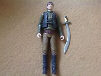 ROBIN HOOD Action Figure - TIGER ASPECT 2006 Toy - From BBC TV series POST FREE