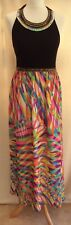 Stunning NEXT Beaded Maxi Dress - - Size 12 - NEW