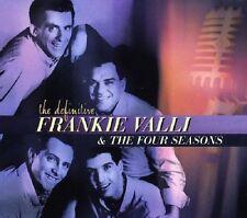 Frankie Valli & Four Seasons Definitive CD NEW SEALED Sherry/Big Girls Don't Cry