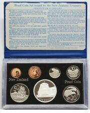 New Zealand - 1978 - Silver Proof Coin Set --  NZ Parliament Beehive