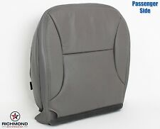 1997 1998 Ford F150 Lariat -PASSENGER Side Bottom Leather Seat Cover Gray