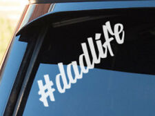 #dadlife Dad life Hashtag Car Sticker Decal - #MumLife Baby on Board Sign