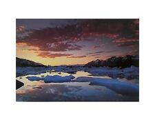ART WOLFE St. Elias Mountains poster stampa d'arte immagine 28x35cm-porto franco