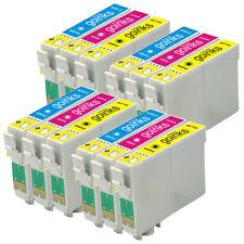12 C/M/Y Cartucce d'Inchiostro per Epson Stylus DX4400 DX8450 SX215 DX6000