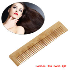 Handmade Massager Anti Static Hair Comb Bamboo Hairstyle Hairdressing Tool