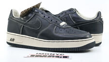 NIKE AIR FORCE 1 LOW HTM NEW SIZE 9.5 BLACK NET 305895 001 FRAGMENT