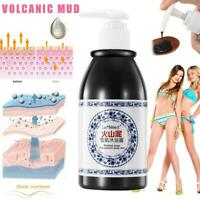 Volcanic Mud Shower Gel Whole Body Wash Fast Whitening Deep Clean Skin Exfoliate