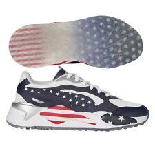 PUMA Rs-g USA 2020 Men's Golf Shoe White/peacoat/red 9