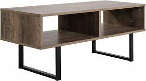 Tribeca Home Media Console Table (Brown)