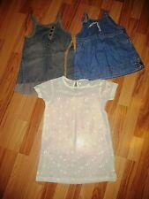 Kinderkleidung Jeanskleiderpaket/Bluse Mädchen gr.92-110 MEXX,
