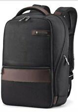 Samsonite Kombi Small Business Laptop Tablet Backpack Black/Brown