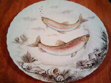"British Anchor Freshwater Fish Chub Dinner Plate 10"""