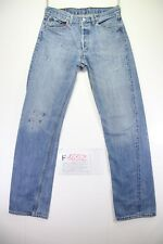 Levi's 501 customized (Cod.F1652) tg46 W32 L34 Jeans gebraucht vintage
