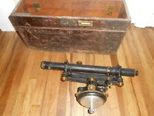 Vintage Antique Surveyors Survey Transit SCOPE Keuffel & Esser DEPT OF INTERIOR